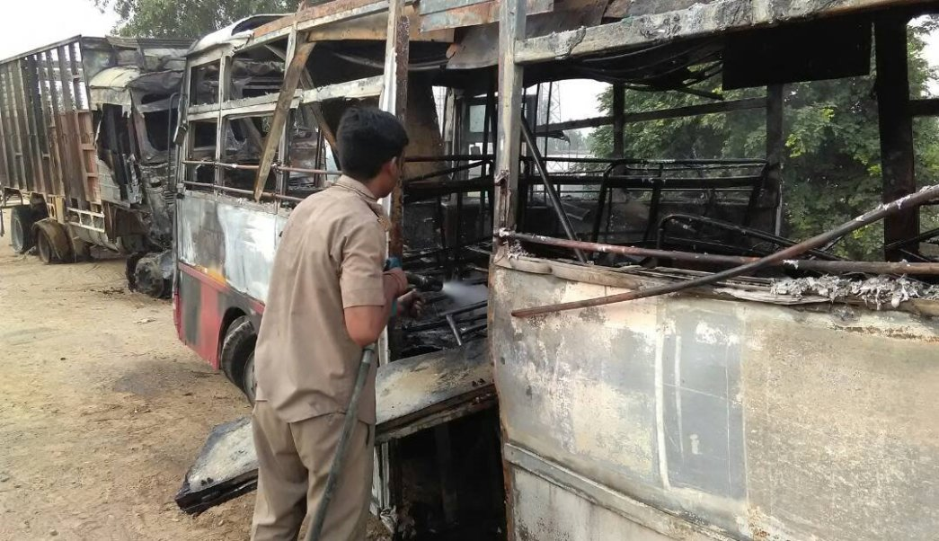 India, autobús, accidente, muertos, choque, seguridad,