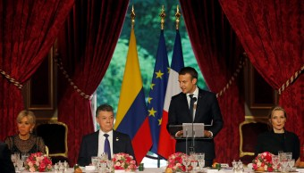 Francia, Macron, Colombia, política, paz, FARC,