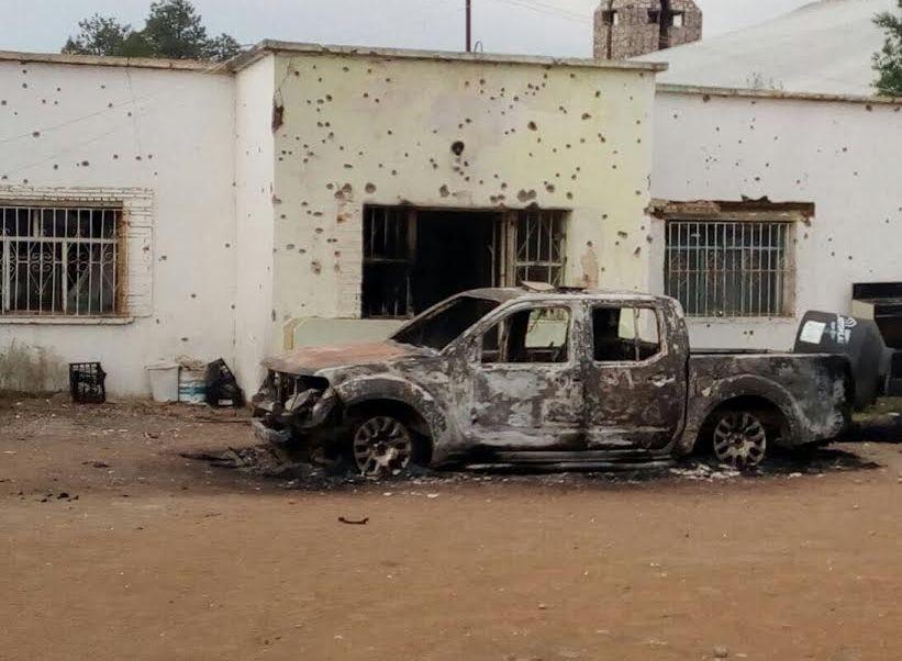 Policia federal, enfrentamiento, Chihuahua, CNS, Noticieros televisa, Forotv