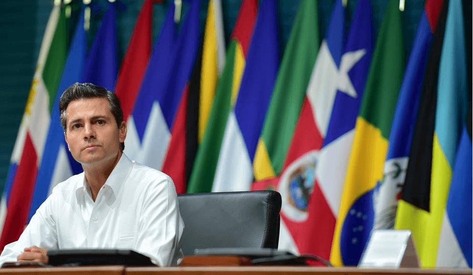 Enrique Peña Nieto en la OE