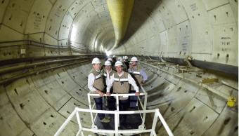 EPN en el Túnel Emisor Poniente II