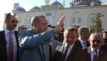 El presidente de Turquía, el islamista Recep Tayyip Erdogan (EFE)