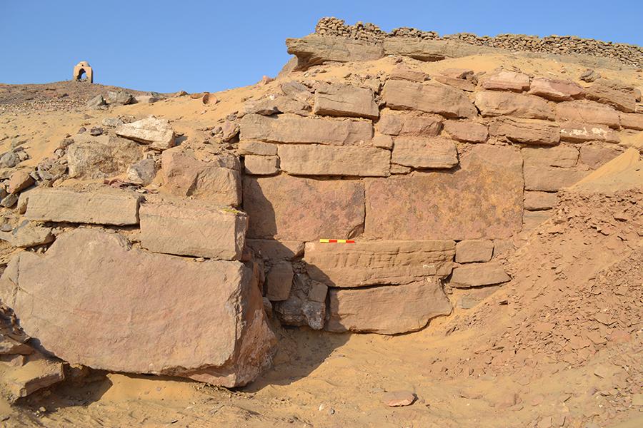 Tumbas descubiertas en la ciudad de Asuan