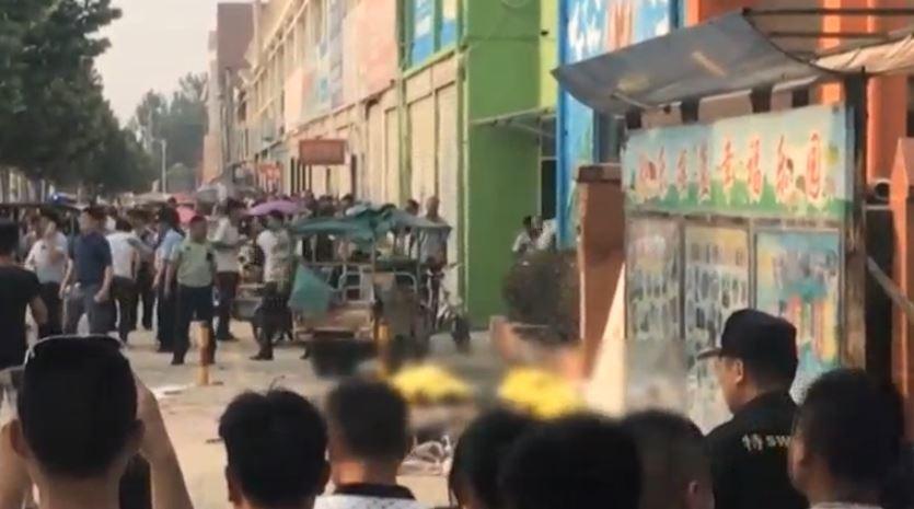 Explosión en guardería de China deja varias vícitmas