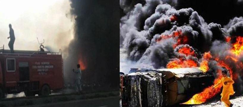 Explosión, Camión cisterna, Pakistán, Muertos, Petróleo, Cuerpos, Heridos, Combustible