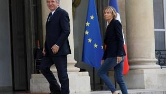 François Bayrou, Justicia, Marielle de Sarnez, Asuntos Europeos, ministros, Emmanuel Macron