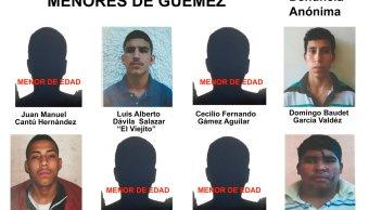 Fugados del tutelar Güermez, en Ciudad Victoria Tamaulipas