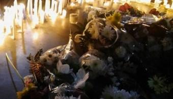 Rinden homenaje a fallecidos en accidente de autobús en Argentina (Twitter: @1952md)