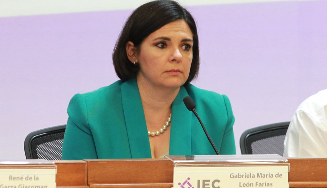 Gabriela de León, consejera presidente del Instituto Electoral de Coahuila