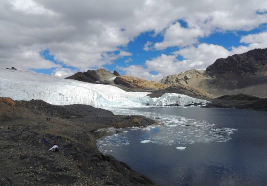 Glaciar Pastoruri, en la Cordillera Blanca de Perú (Twitter: @Estelamgm)