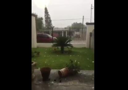 ranizada, Tamaulipas, Granizada en tamaulipas, Intensa granizada en tamaulipas, Clima