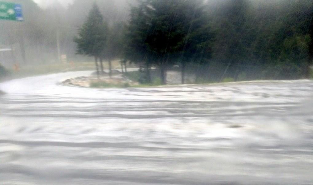 Granizada, Lluvia, Vialidad, La marquesa, Clima