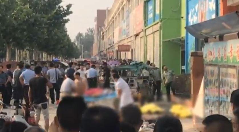 Explosión en guardería infantil de China