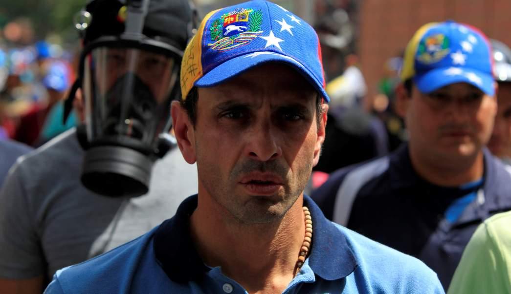 Venezuela, Capriles, protestas, bloqueos, Justicia, prisión,
