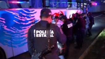 Operativos, Transporte público, Hidalgo, Seguridad publica, Noticieros televisa, Forotv