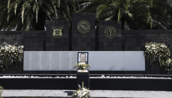 Homenaje mando PGR