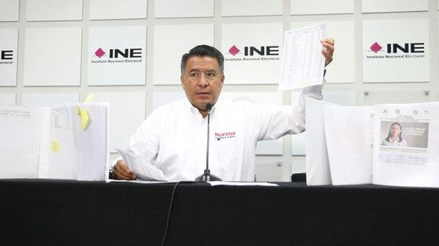 Morena, PRI, Alfredo, Del Mazo, Delfina Gómez, Estado de México, INE