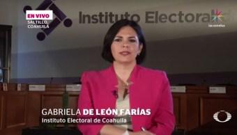 noticias, televisa, IEC, Cómputos, resultado, Coahuila