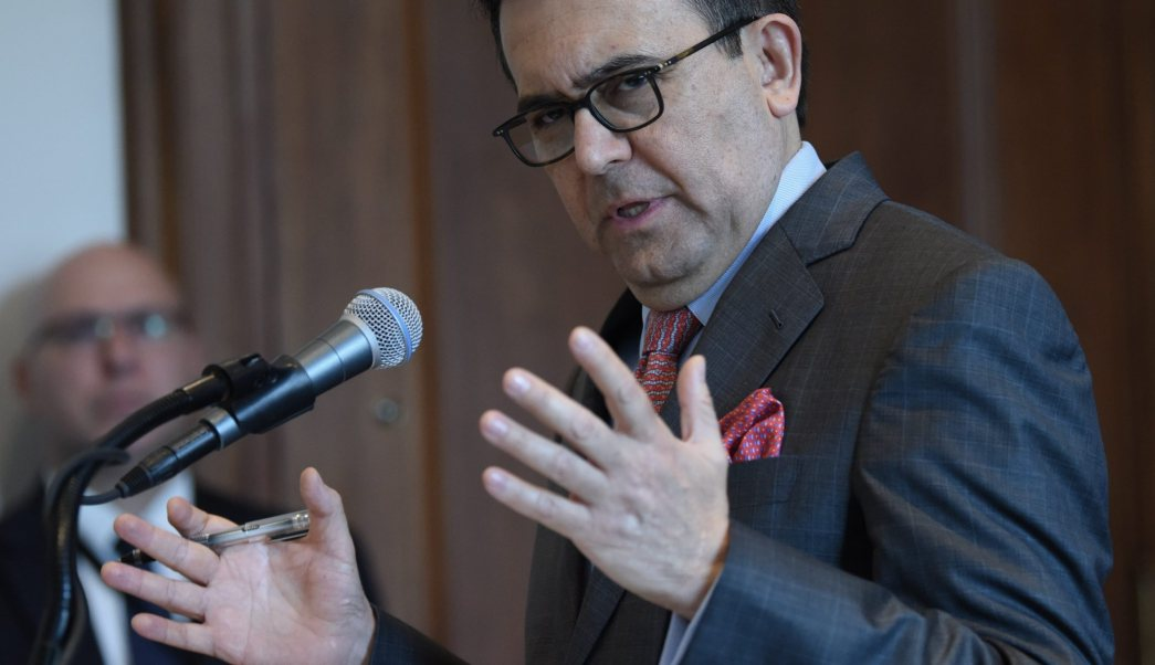 Ildefonso Guajardo, secretario de Economía, TTP, TLCAN, economía, México