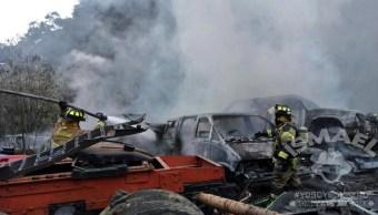 Incendio, Ciudad de mexico, Deshuesadero, Bomberos, Noticieros televisa, Forotv