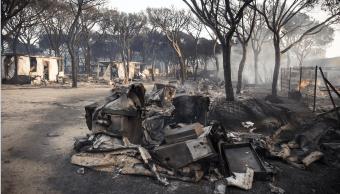 Incendio en Espana se mantiene en entorno del Parque Nacional Donana