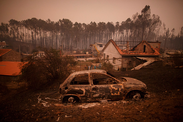 Incendio Forestal En Portugal, Incendio En Portugal, Sobreviven En Un Tanque De Agua, Maria Do Ceu Silva, Nodeirinho, Noticias De Portugal, Televisa, Noticieros Televisa, Televisa News