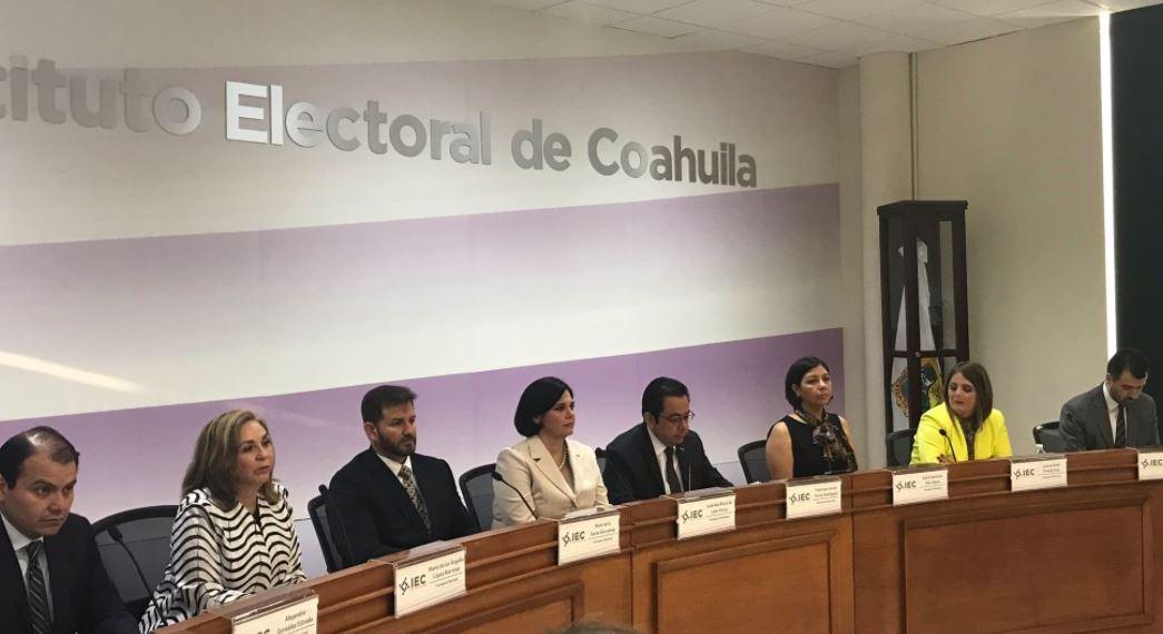 Instituto Electoral, jornada electoral elecciones, coahuila