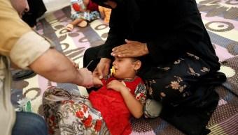 Iraquíes desplazados cayeron enfermos por intoxicación alimentaria al este de Mosul (Reuters)