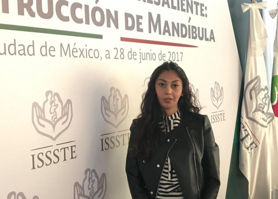 Itzel Pérez Mendieta (Twitter: @ISSSTE_mx)