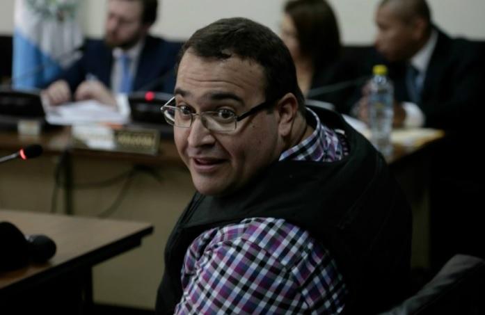 Este martes 27 de junio será la audiencia de Javier Duarte en Guatemala. (La Hora/Archivo)
