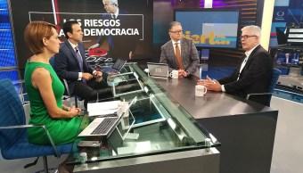 Javier Moreno, de Grupo Prisa, en Despierta con Loret