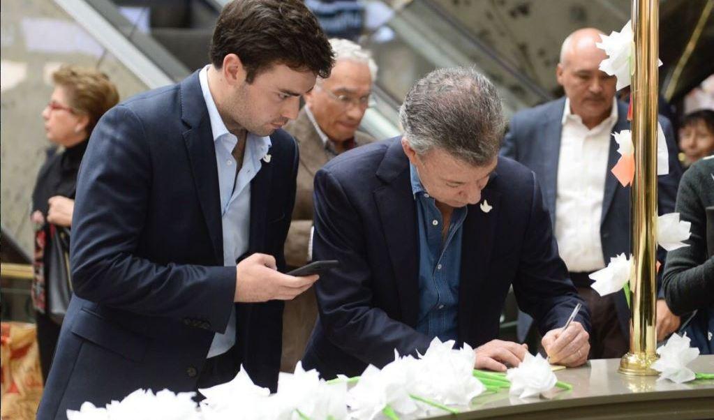 Juan Manuel Santos escribe un mensaje a los colombianos