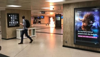 Fiscalía, Bélgica, terrorismo, explosión, estación, ataque,