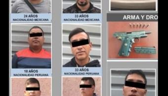 ladrones, detenidos, pgjcdmx,