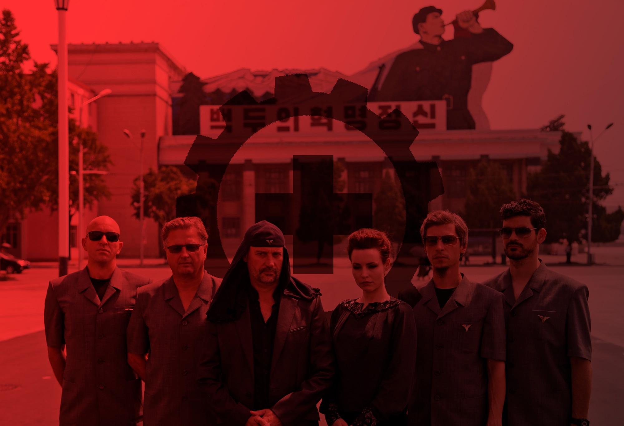 Laibach rock totalitario arte Corea del Norte