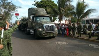 Llega la exposición Fuerzas Armadas a Boca del Río
