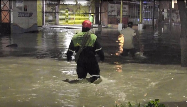 Lluvia, Clima, Tuxtla Gutiérrez, Chiapas, Inundación