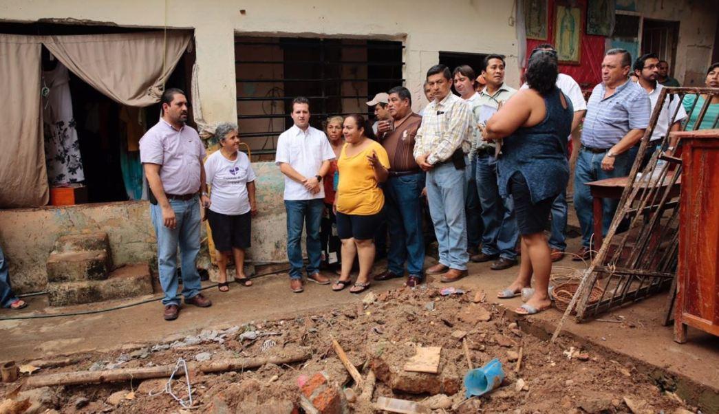 Municipio Centro, lluvias en tabasco, inundaciones en Tabasco, damnificados