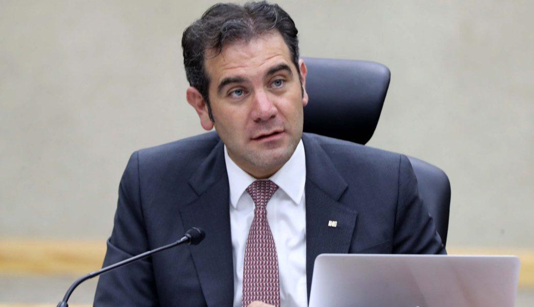 Lorenzo Córdova, consejero presidente del Instituto Nacional Electoral