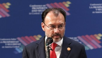 Luis Videgaray participa en la Conferencia sobre Prosperidad y Seguridad en Centroamérica