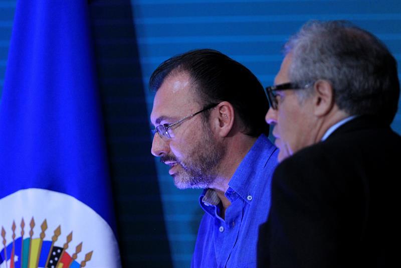Luis Videgaray, EFE, OEA, Venezuela, países caribeños, política