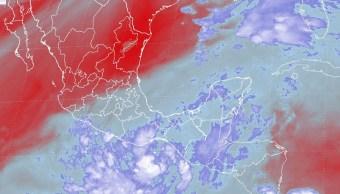 Servicio Meteorologico Nacional, Zona De Baja Presion, Golfo De Tehuantepec, Ciclon, Salina Cruz, Bahias De Huatulco, Oaxaca, Comisión Nacional del Agua, Conagua, Vientos Maximos, Televisa, Noticieros, Televisa News