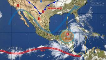 Tormenta tropical número 2 se forma lejos de costas de México