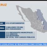 Mapa, elecciones, 4 de junio, México, elecciones, votaciones,