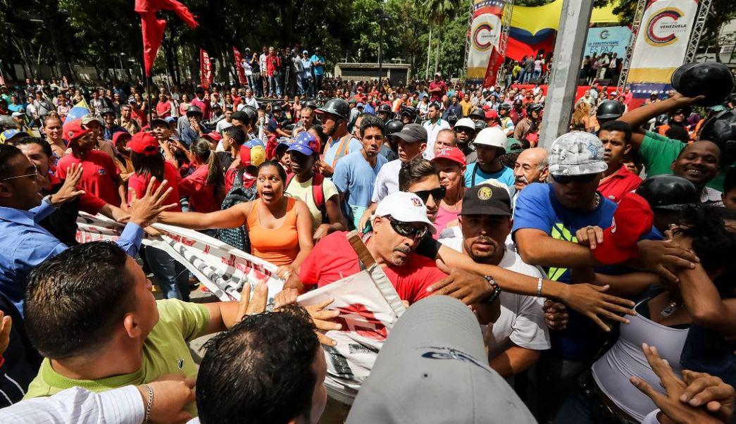 Marchas contra Nicolás Maduro en Venezuela