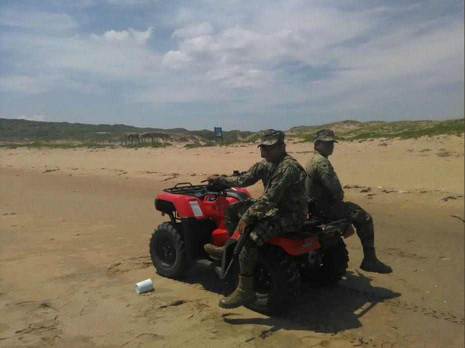 Marinos participan en patrullajes de los tuxtlas