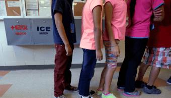 Menores resguardados en centros del ICE en Estados Unidos