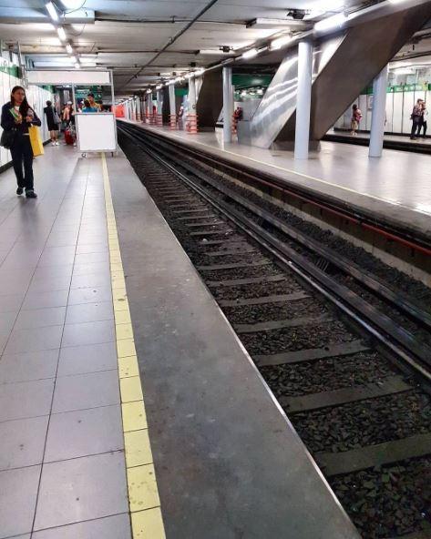 STC, Metro, Bellas Artes, vías, accidente, seguridad