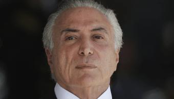 Michel Temer, presidente de Brasil, acusado de corrupción