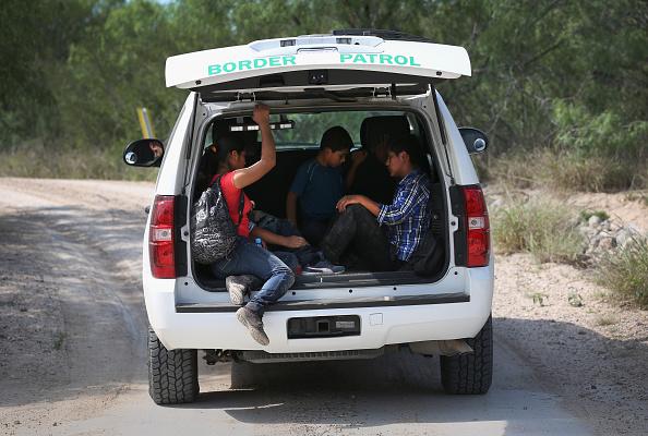 Migrantes, detenidos, Patrulla Fronteriza, Estados unidos, migrantes mexico estados unidos